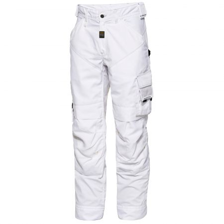 Pantalon de maçon Tech Zone Workzone by ENGEL Blanc
