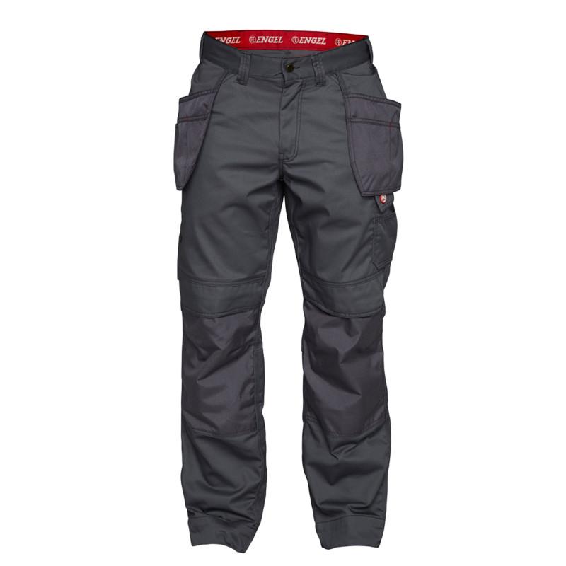 Pantalon de travail avec poches pendantes COMBAT gris anthracite
