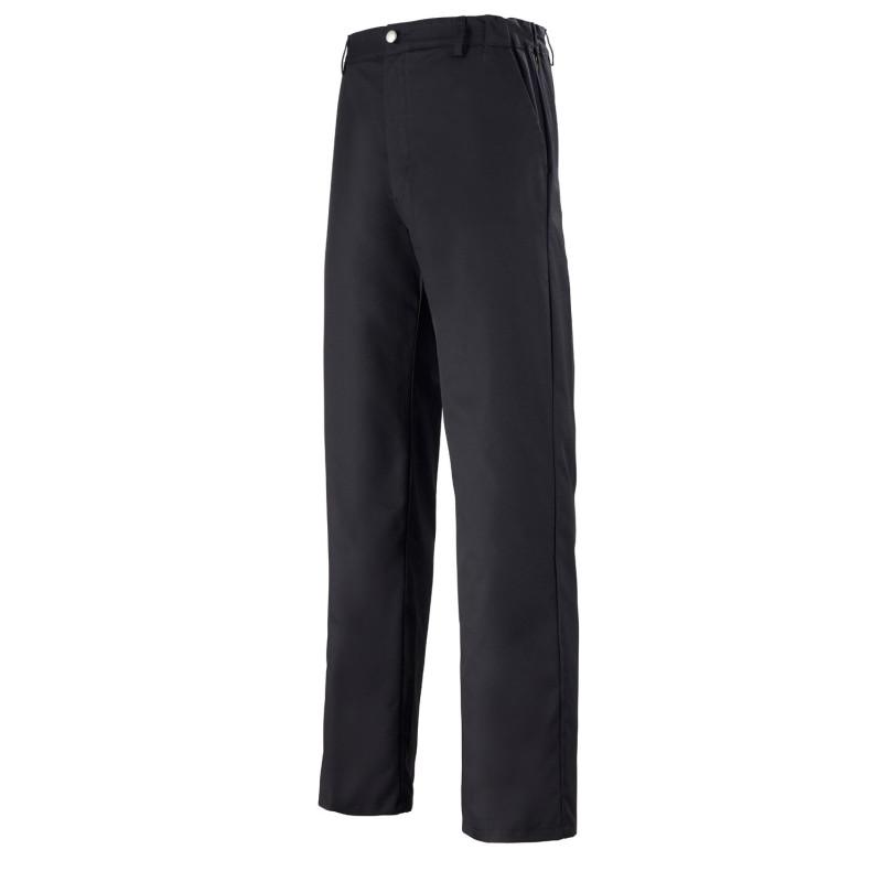 Pantalon Cuisine Uni noir