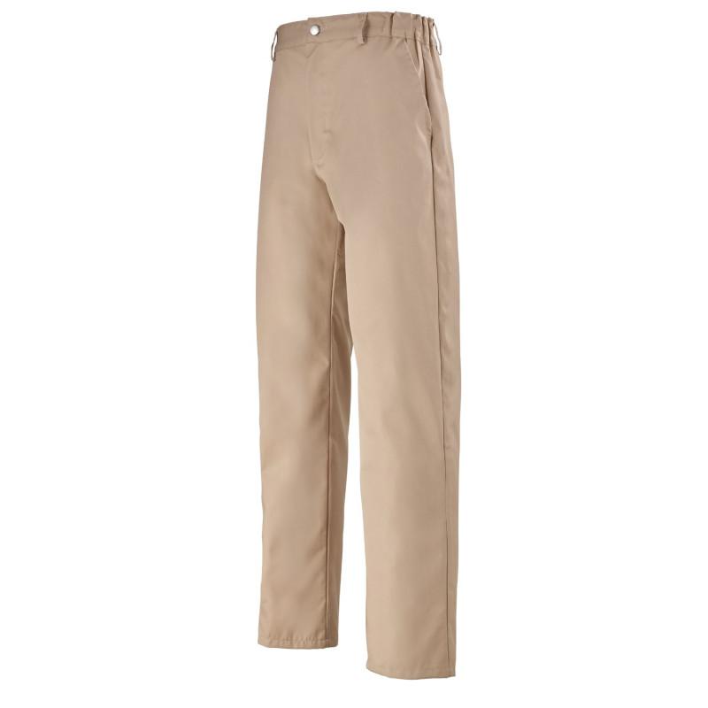 Pantalon Cuisine Uni beige