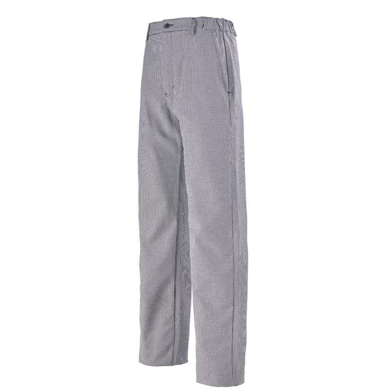 Pantalon de cuisine homme pied de poule