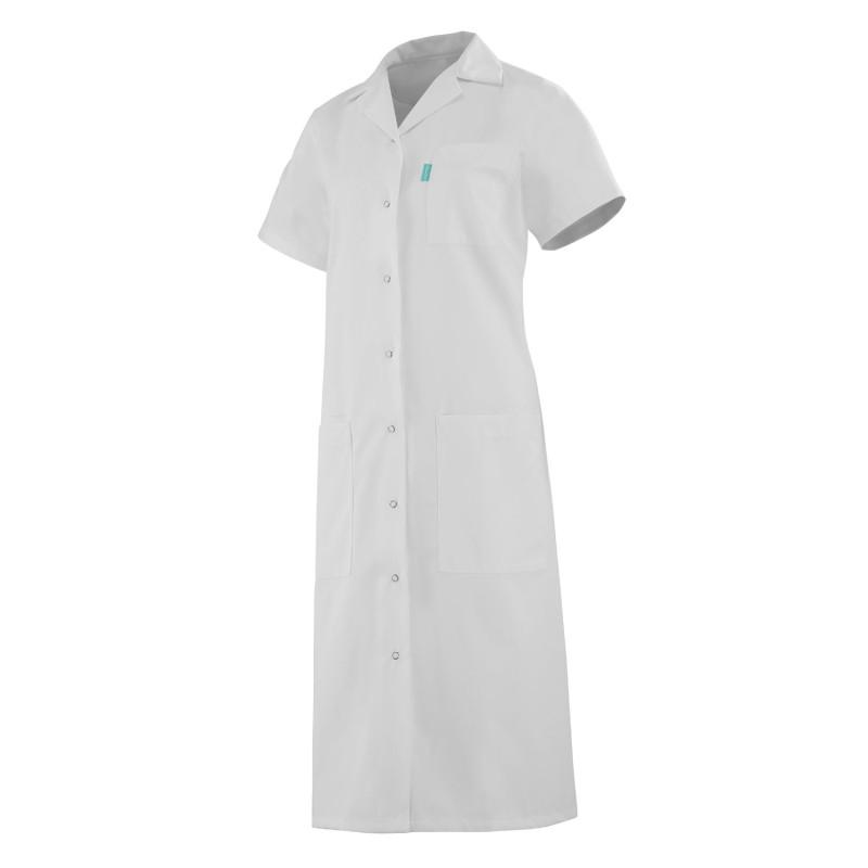 Blouse médicale femme à manches courtes blanches Mélodie CLEMIX