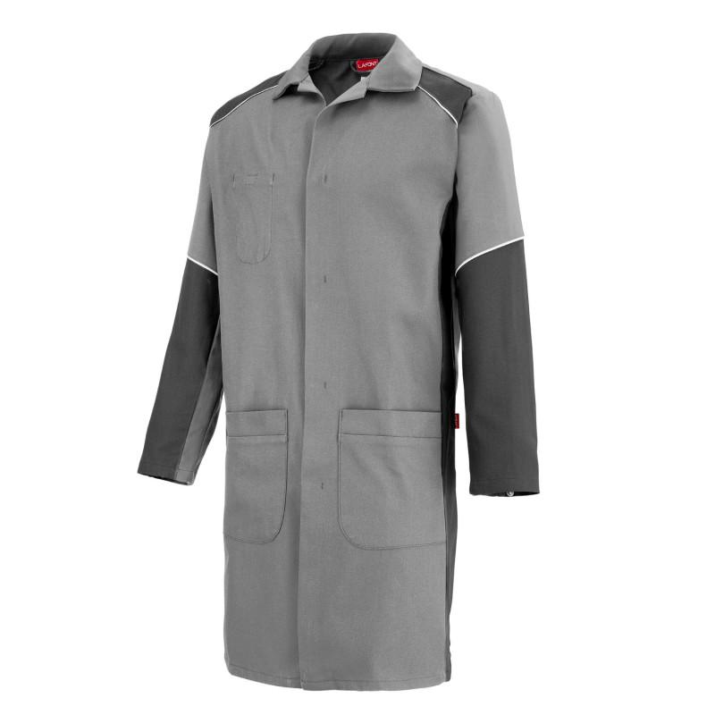 blouse de travail entretien industriel gris