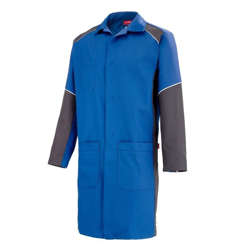 blouse professionnelle industrie entretien industriel gris