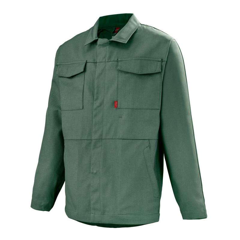 Veste de travail sans métal verte Lafont BERYL Work Collection