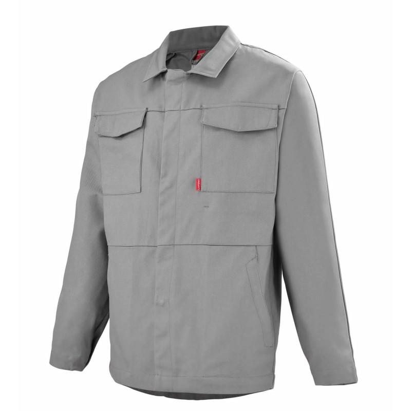 Veste professionnelle sans métal Lafont BERYL Work Collection grise