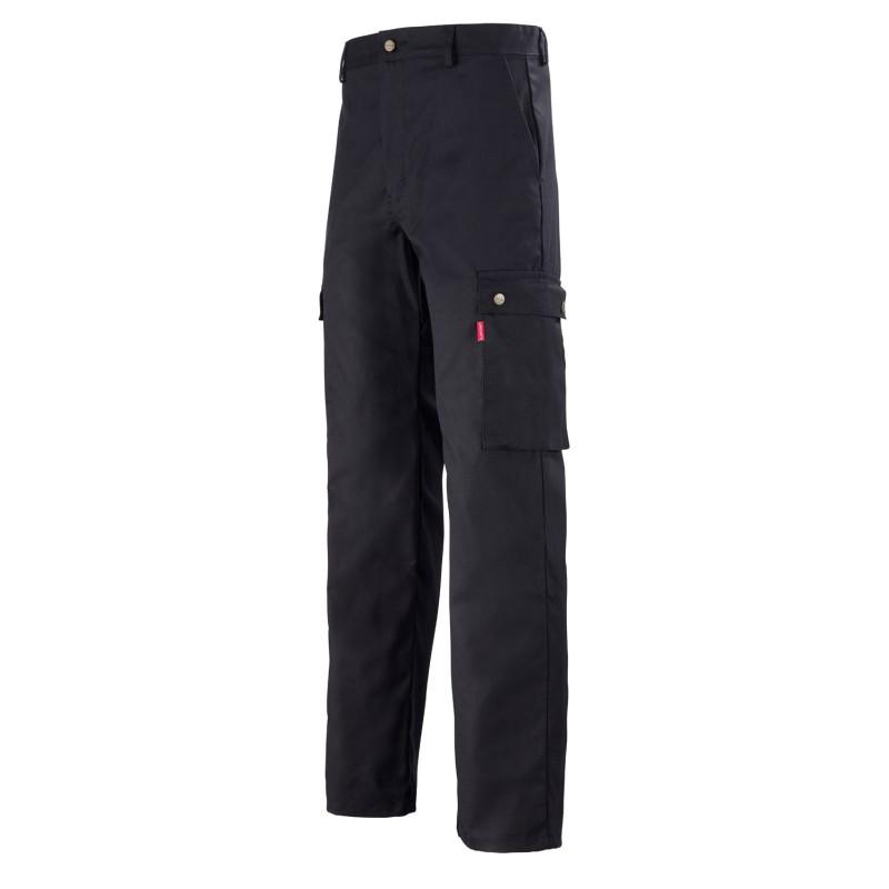 Pantalon de travail polyvalent Lafont Work Profil transport et logistique de couleur noire