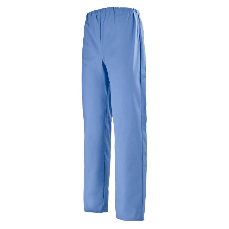 Pantalon mixte bloc opératoire Ariel de Clemix bleu perse