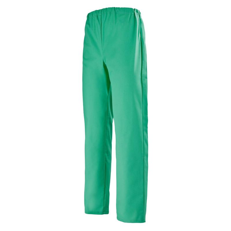 Pantalon mixte bloc opératoire Ariel de Clemix vert opératoire