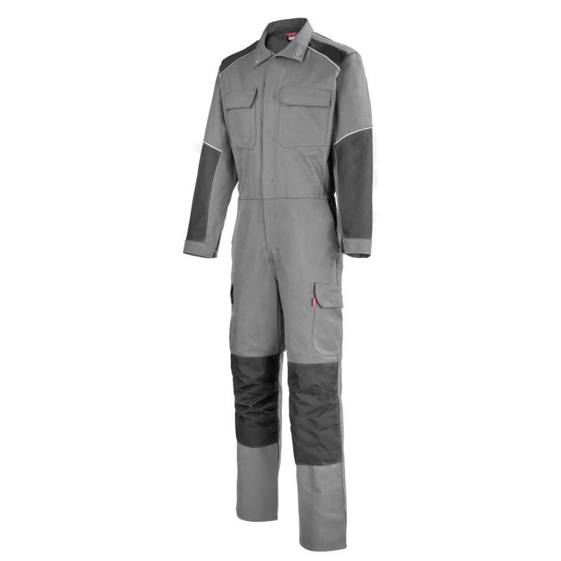 combinaison de travail entretien industriel gris