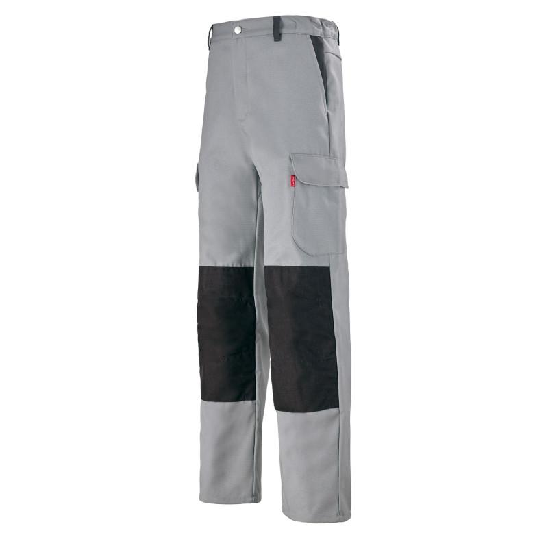 pantalon de travail pour l'industrie gris acier