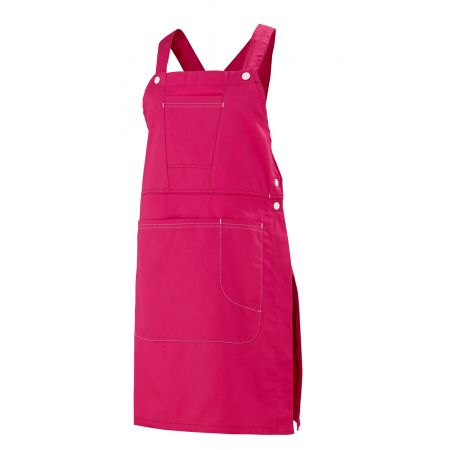 Robe Tablier professionnelle rose Batia