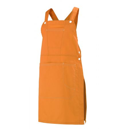 Robe Tablier professionnelle orange Batia