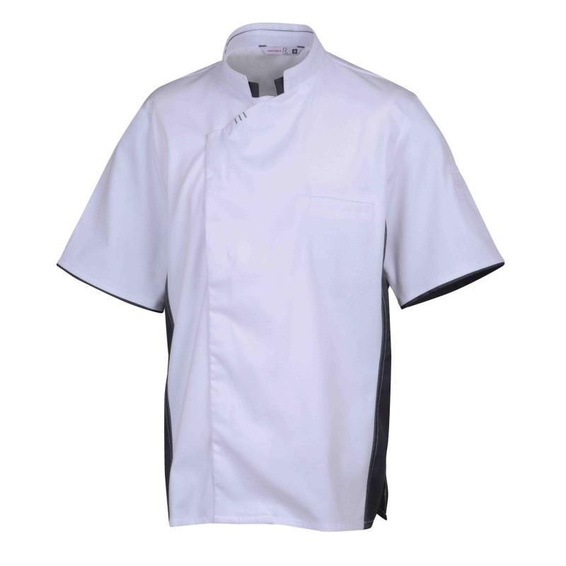 Veste de cuisine manches courtes TIXI