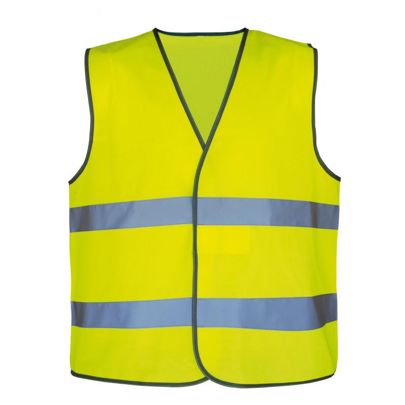 Gilet haute visibilité jaune pas cher T2S NEON