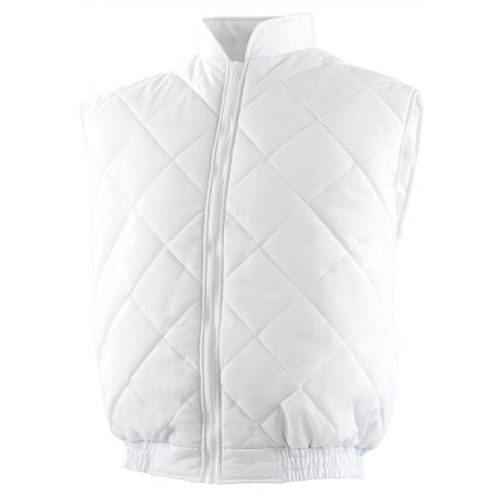 Gilet Anti-Froid Agrolimentaire Cuisine Blanc Prosur