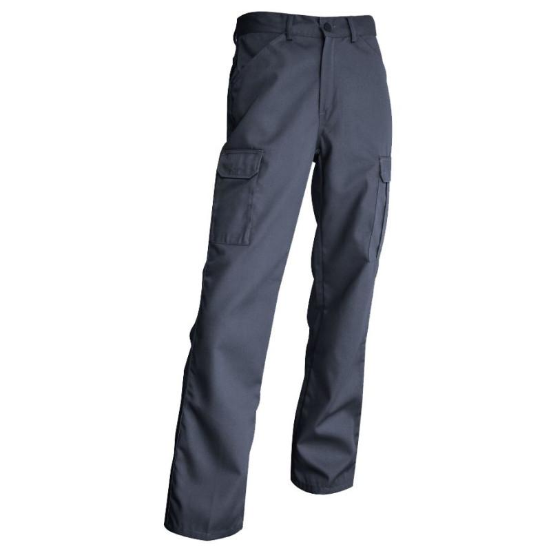 Pantalon de Travail LMA Gris avec Poches