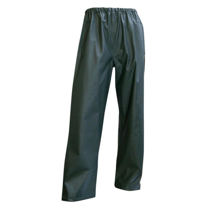 Pantalon de Travail Imperméable LMA Tonnerre - Vert Kaki foncé