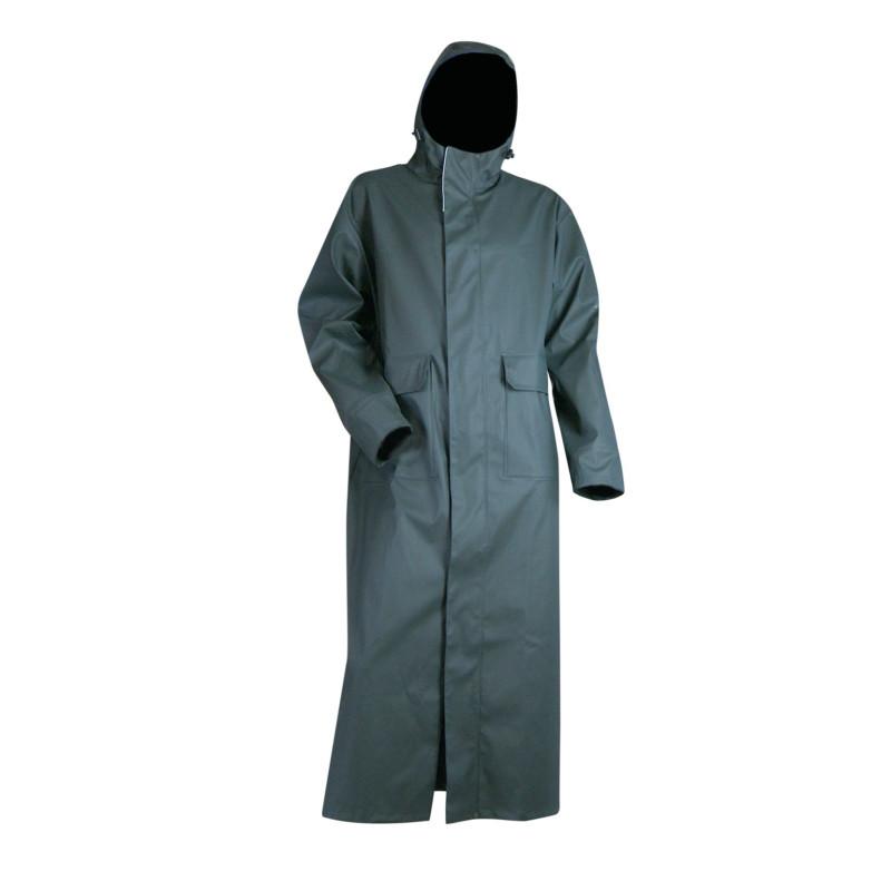 Manteau de Pluie Professionnel Impermeable Etanche LMA BRUME vert kaki