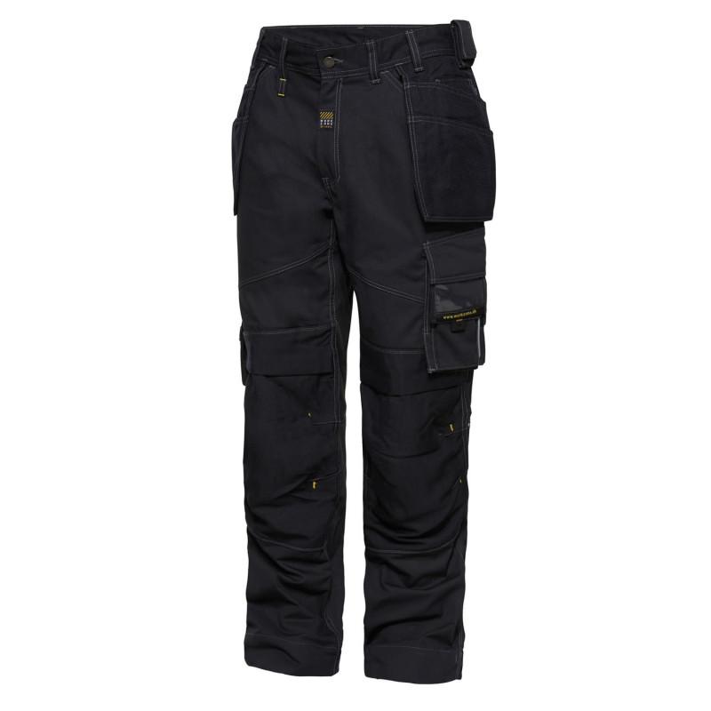 Pantalon de Charpentier Menuisier Noir Workzone Engel