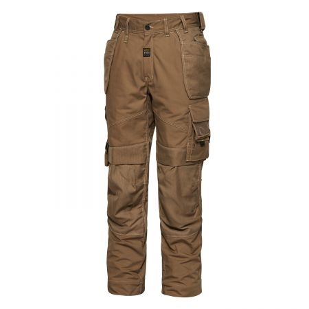Pantalon de Charpentier Menuisier Marron Bois Tech Zone Workzone Engel