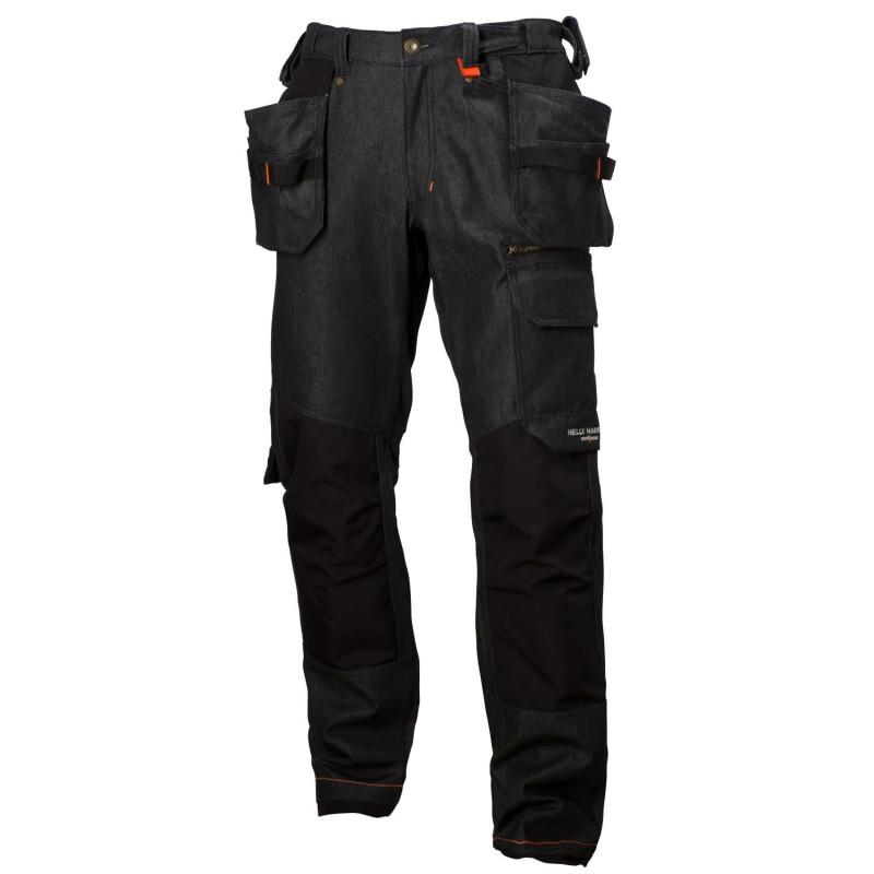 Pantalon poches pendantes MJØLNIR Noir