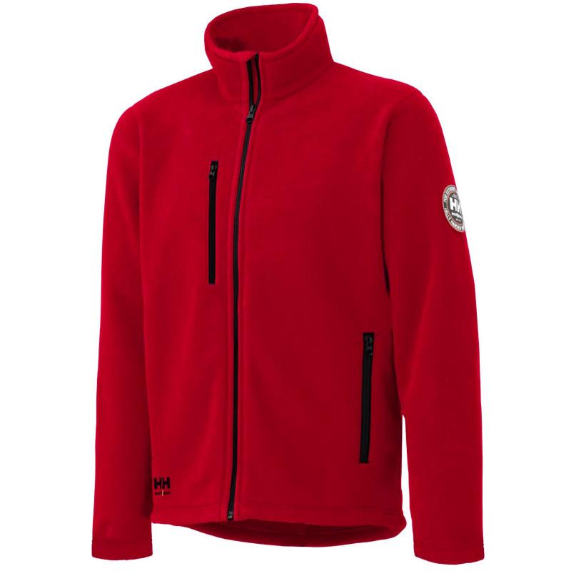 Veste polaire de travail Helly Hansen Workwear LANGLEY rouge