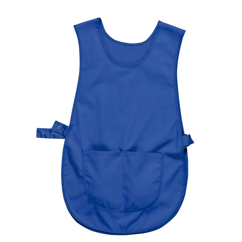 Chasuble bleu professionnel avec poche
