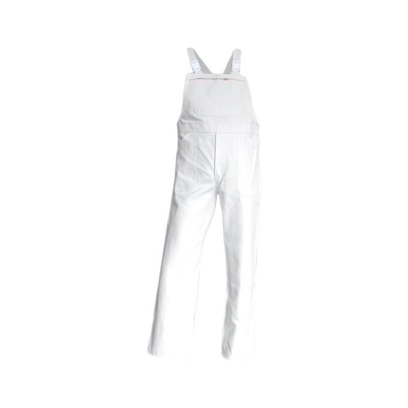 Salopette de travail blanche 100% Coton LMA BROSSE