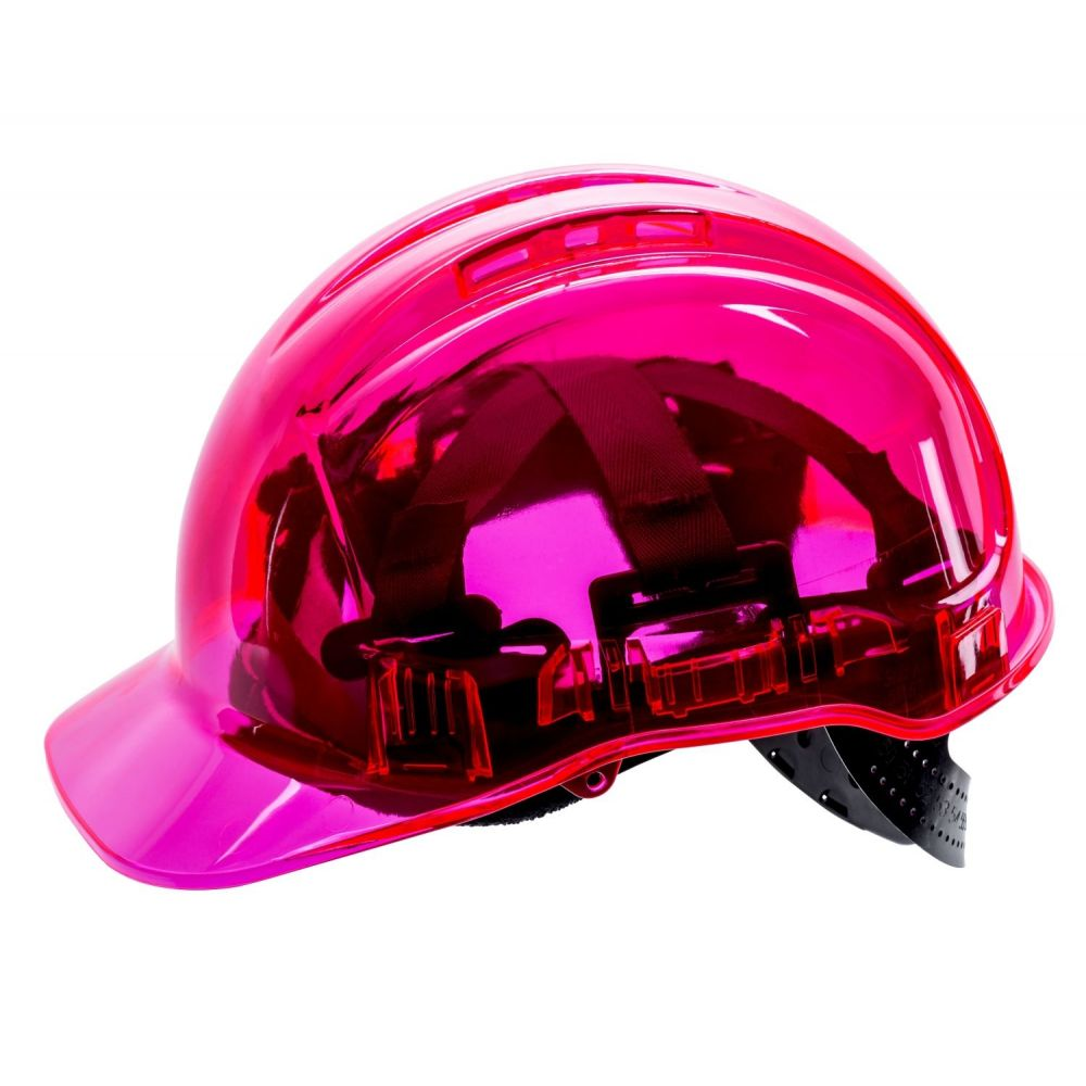Casque De Chantier Transparent Portwest Peakview Pv50 Epi