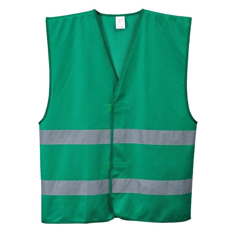Gilet de sécurité vert IONA Portwest