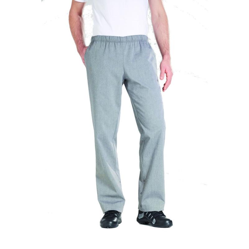 pantalon de cuisine bragard homme gris