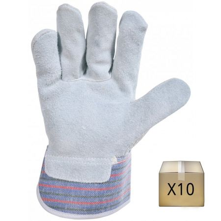 Gants de manutention ECO (lot de 10 paires)