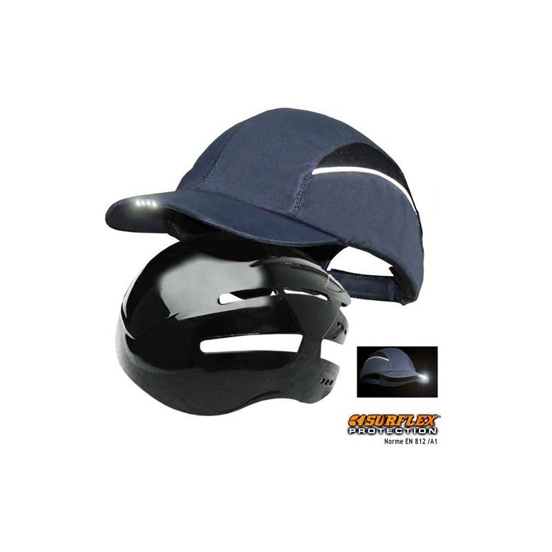 Casquette de protection EN812 à LED