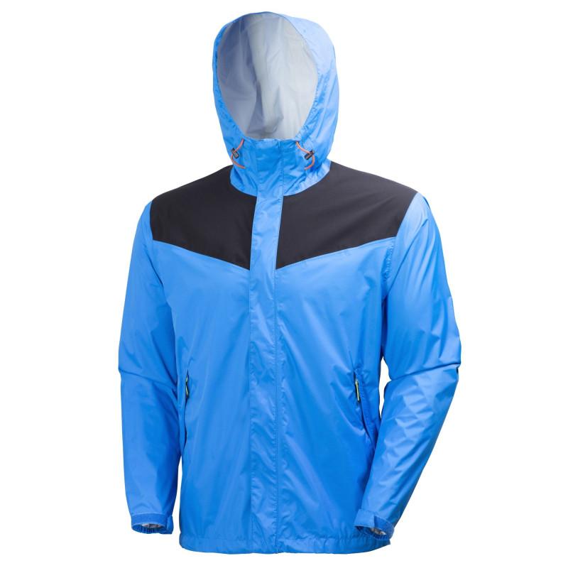 Veste de pluie professionnelle bleu Helly Hansen Workwear MAGNI Light Jacket