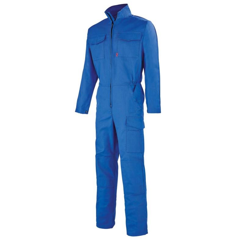 Combinaison professionnelle Lafont Simple Zip Work Collection ONYX bleu bugatti