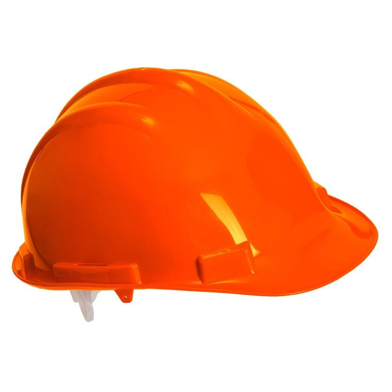 Casque de chantier orange Portwest Endurance