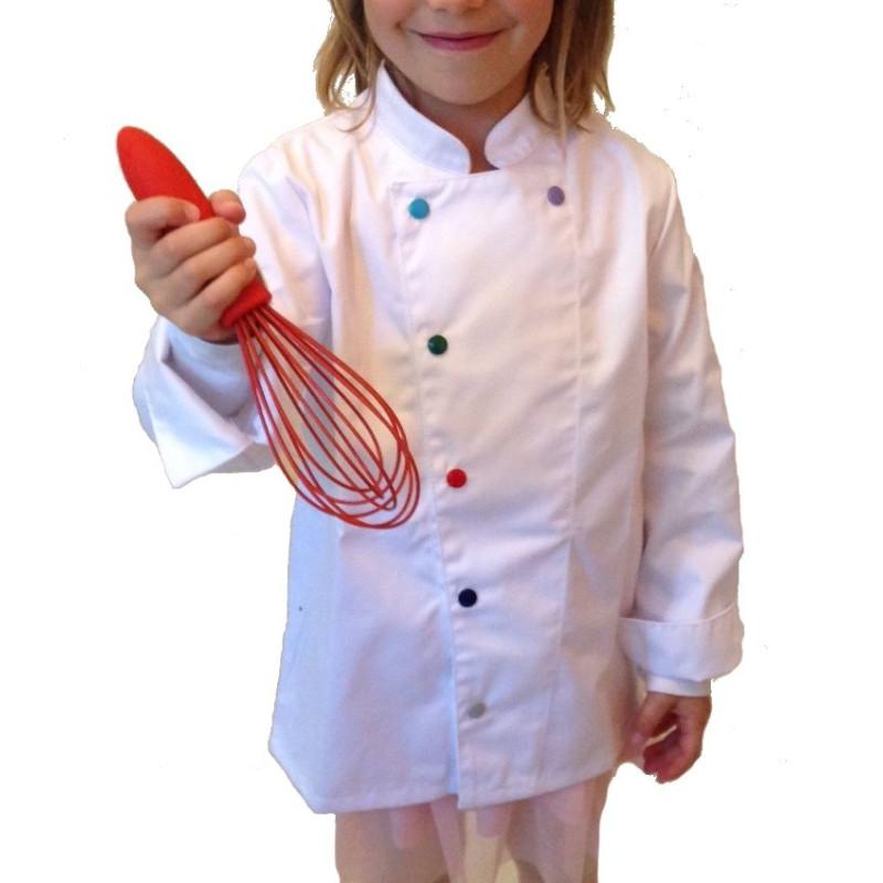 Veste de cuisine enfant Méloé