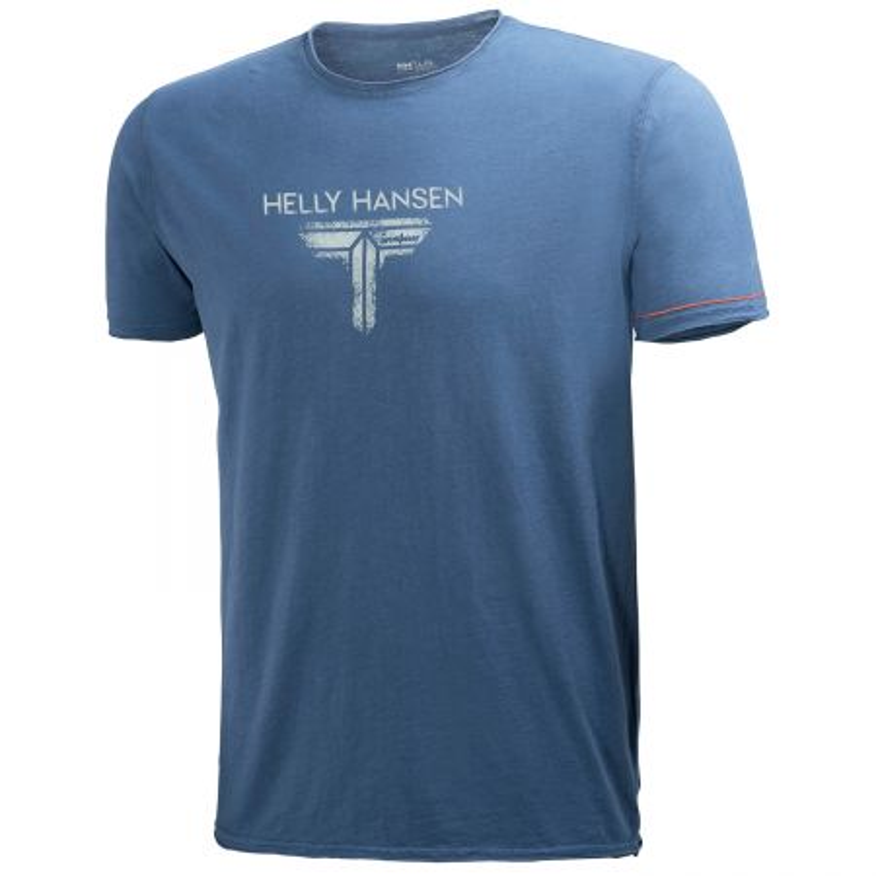 Tee Shirt professionnel Bleu Helly Hansen Workwear Mjølnir