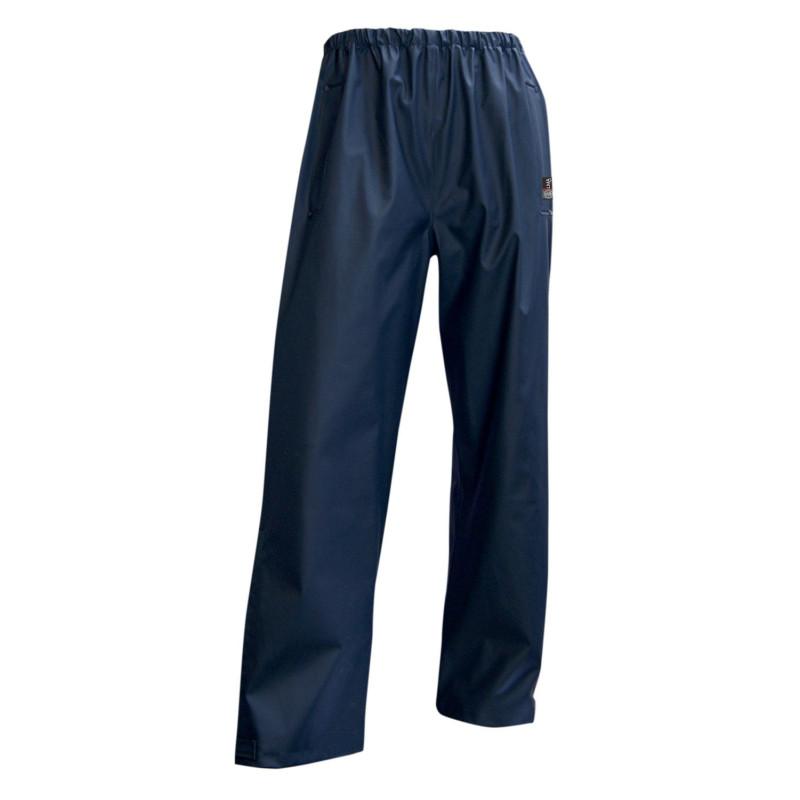 Pantalon de Travail Imperméable LMA Tonnerre - Bleu Marine