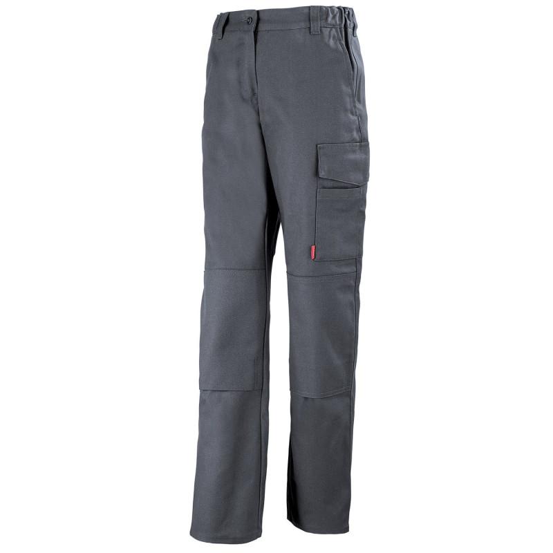 Pantalon pro Femme sans métal JADE Lafont Work Collection pas cher - gris charbon