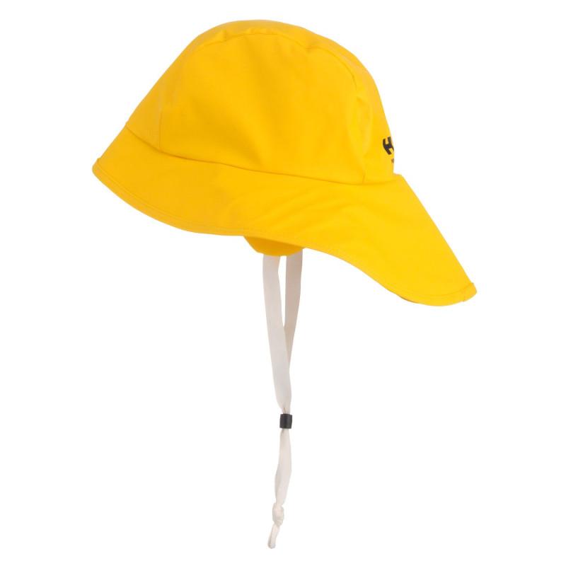 Chapeau de travail Anti-Pluie Imperméable Jaune Helly Hansen Workwear SVOLVAER pour pêcheur professionnel