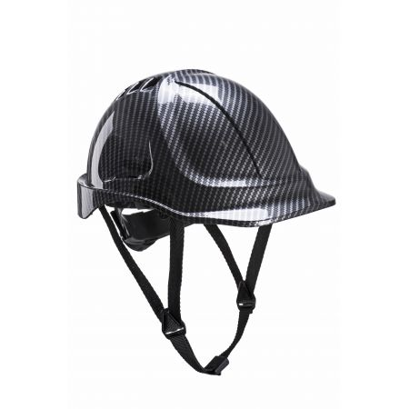 Casque de Chantier gris ENDURANCE imitation Carbone PORTWEST PC55