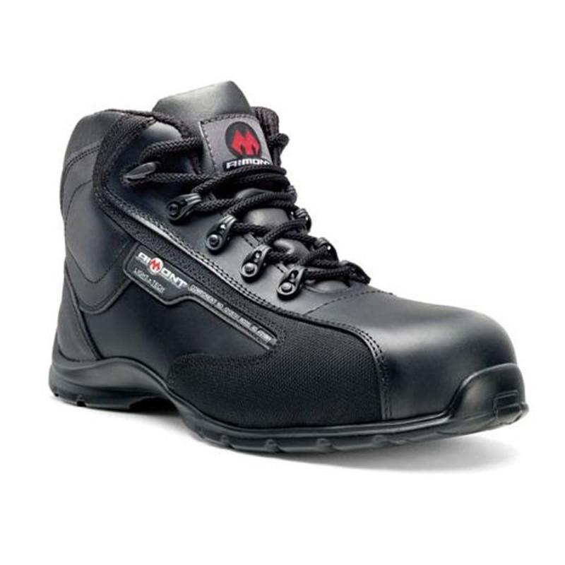 Chaussures de sécurité noir hautes S3
