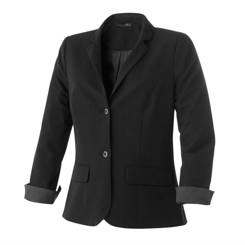 Veste de Service pour femme doublée Robur UTICA de couleur Noire
