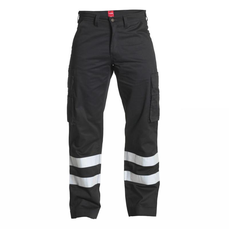 Pantalon pro noir Engel STANDARD avec bandes réfléchissantes