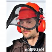 Kit de protection Forestier hgcf01 Singer Safety couleur orange