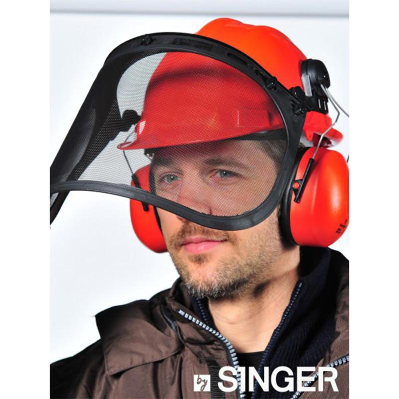 Kit de protection Forestier hgcf01 Singer Safety couleur orange