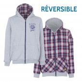 Sweat de travail réversible SWEATSHIRT CHECK