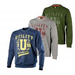Sweatshirt pro Diadora SWEATSHIRT CHECK vue des coloris
